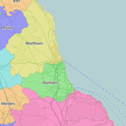 Map Of England Zoom.Great Britain And Ireland Interactive County Map