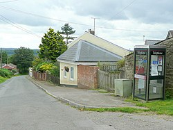 Phone box and post box, The Pludds - geograph.org.uk - 1427591.jpg
