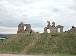 Remains of Castle, Sandal Magna - geograph.org.uk - 35344.jpg