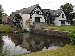 Reflections on Marford Mill - geograph.org.uk - 1356758.jpg