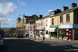 Albert Road and Municipal Hall, Colne, Lancashire - geograph.org.uk - 356851.jpg