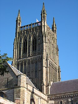 Worcester Cathedral - geograph.org.uk - 923540.jpg