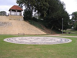 Castle Mound, Bedford - geograph.org.uk - 552619.jpg