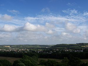 View over Pencoed
