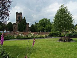 Village Green and St. Michael's Church, Penkridge - geograph.org.uk - 858550.jpg