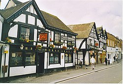 The Three Horseshoes, Leominster. - geograph.org.uk - 149159.jpg