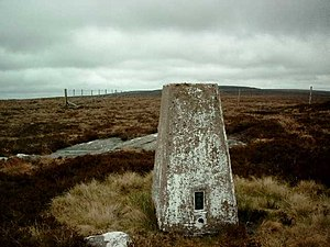 Trig Pillar S7909 - The Grun - geograph.org.uk - 816598.jpg