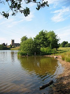 Big Mere and church at Marbury - geograph.org.uk - 205379.jpg
