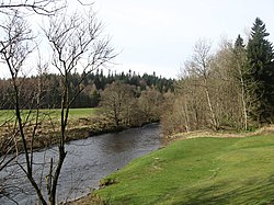 A view of the Ettrrick Water at Philiphaugh - geograph.org.uk - 1207260.jpg
