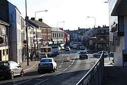 Abercorn Square, Strabane (01), January 2010.JPG