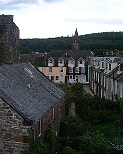 Rooflines and facades, Kirkcudbright - geograph.org.uk - 34792.jpg