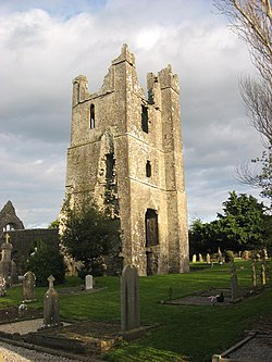 Tower of St. Mary's Church, Duleek - geograph.org.uk - 757989.jpg