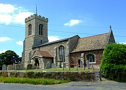 St Peter's, Kings Ripton - geograph.org.uk - 839692.jpg