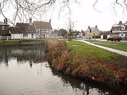 Histon green, pond and B1049 road junction - geograph.org.uk - 96983.jpg
