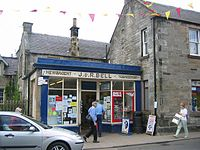 Shopping in West Linton