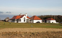 The clubhouse at Luffness New Golf Course (geograph 2283985).jpg