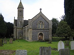West Hyde, The Church of St. Thomas of Canterbury - geograph.org.uk - 98113.jpg