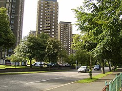 High flats on Lincoln Avenue - geograph.org.uk - 521208.jpg