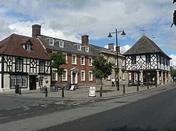 Wootton Bassett, High Street and town hall - geograph.org.uk - 527640.jpg
