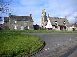 Bythorn Cottages and Church - geograph.org.uk - 345536.jpg