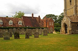 Churchyard, St Andrew, Great Staughton, Huntingdonshire.jpg