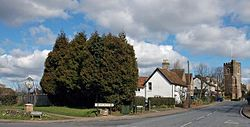 Harlington, Bedfordshire, at the crossroads.jpg