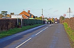 Croft Road enters Thurlaston - geograph.org.uk - 681309.jpg