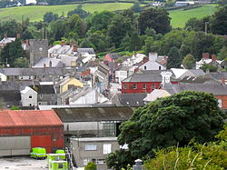 Dromore town centre from Mound.jpg