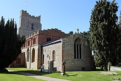 Church of St Mary, High Easter, Essex, England - from the south-west.jpg
