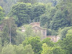Mavisbank House through the trees - geograph-3517677.jpg