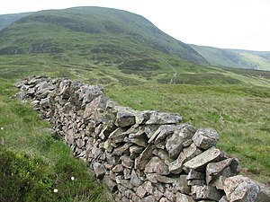 Wall, White Coomb - geograph.org.uk - 467390.jpg