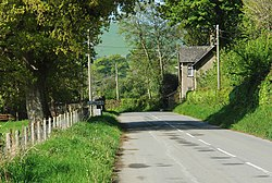 Lower road into Llanegryn 2009 - geograph.org.uk - 1508361.jpg