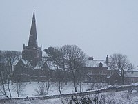 St George's in the snow