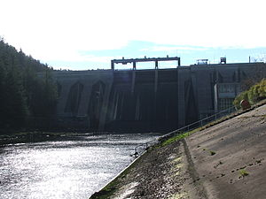 The Inniscarra Dam