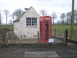 Careston Telephone Exchange and Kiosk - geograph.org.uk - 678120.jpg